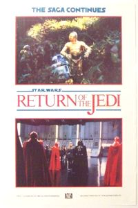 British Return of the Jedi Advance Teaser Double Crown #1