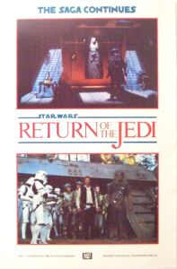 British Return of the Jedi Advance Teaser Double Crown #3