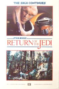 British Return of the Jedi Advance Teaser Double Crown #4