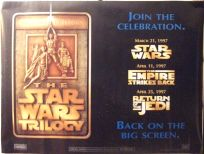 "British Star Wars Special Edition Version ""A"" Advance Quad"
