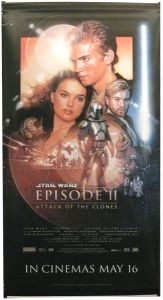 "British Attack of the Clones Version ""B"" Banner"
