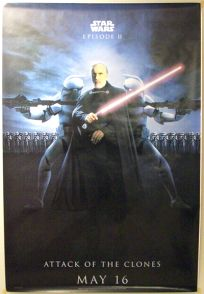 "British Attack of the Clones Version ""Bad Guys"" Dooku Bus Stop"