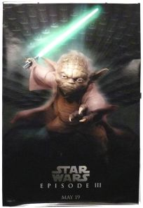 """British Revenge of the Sith Version """"Characters"""" Yoda Bus Stop"""