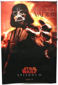 """British Revenge of the Sith Version """"Characters"""" Vader Bus Stop"""