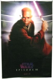 """British Revenge of the Sith Version """"Characters"""" Windu Bus Stop"""