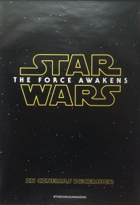 """British The Force Awakens Version """"A"""" One-Sheet"""