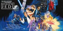 "British Return of the Jedi Style ""A"" Foreign Sixteen-Sheet"