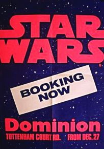 British Star Wars Advance Booking Double Crown