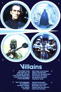 """British Star Wars Style """"Heroes - Villains"""" Double Crown"""