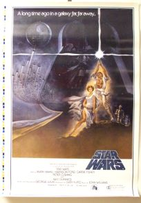 "USA Star Wars Style ""A"" Unreleased Proof One-Sheet"