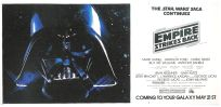 USA Empire Strikes Back Advance Teaser Eight-Sheet