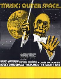 USA Star Wars Music From Outer Space Poster