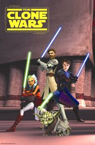 USA The Clone Wars Advance ShoWest Banner / One-Sheet