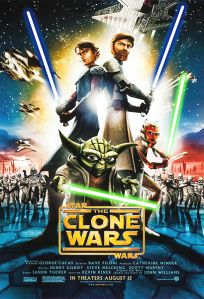 """USA The Clone Wars Version """"A"""" One-Sheet"""