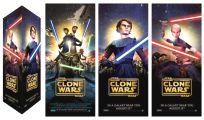 """USA The Clone Wars Version """"A"""" Totem Standee"""