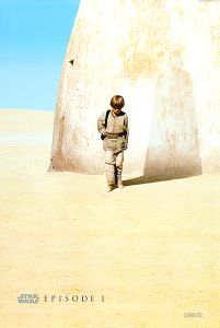 "USA The Phantom Menace Version ""A"" Advance One-Sheet"