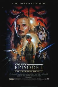 "USA The Phantom Menace Version ""C"" One-Sheet"