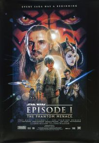 "USA The Phantom Menace Version ""B"" Vertical Banner"
