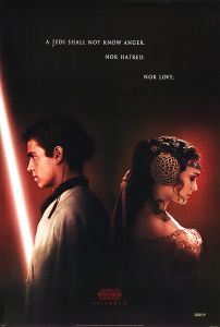 """USA Attack of the Clones Version """"A"""" Advance One-Sheet"""