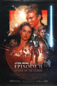 "USA Attack of the Clones Version ""C"" One-Sheet"