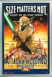 "USA Attack of the Clones Version ""A"" XL IMAX Banner"