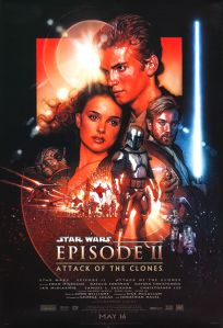 "USA Attack of the Clones Version ""B"" Vertical Banner"