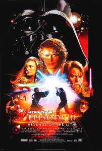 """USA Revenge of the Sith Version """"B"""" One-Sheet"""