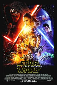 """USA The Force Awakens Version """"B"""" Amplified Figures One-Sheet"""