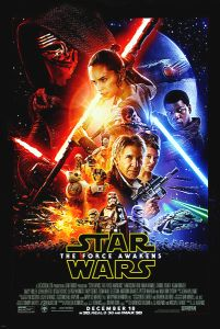 """USA The Force Awakens Version """"B"""" Amplified Figures + Rating Block One-Sheet"""