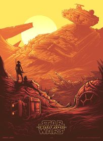 USA The Force Awakens AMC IMAX Theatres Exclusive 1 of 4 Poster