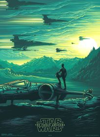 USA The Force Awakens AMC IMAX Theatres Exclusive 2 of 4 Poster