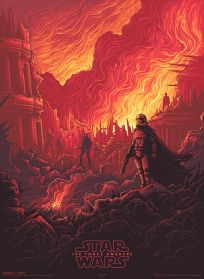 USA The Force Awakens AMC IMAX Theatres Exclusive 3 of 4 Poster