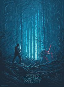 USA The Force Awakens AMC IMAX Theatres Exclusive 4 of 4 Poster