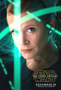"USA The Force Awakens Version ""One Eye Series"" Leia Banner"