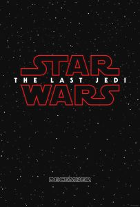 "USA The Last Jedi Version ""A"" Advance One-Sheet"