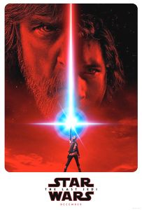 "USA The Last Jedi Version ""A"" Advance 2nd Version One-Sheet"