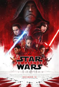 "USA The Last Jedi Version ""B"" One-Sheet"