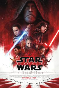 "USA The Last Jedi Version ""B"" International One-Sheet"