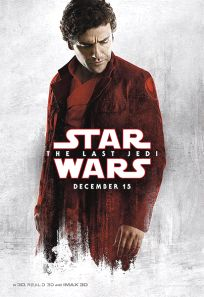 "USA The Last Jedi Version ""Blood Red Cloak"" Dameron Bus Shelter"