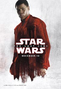 "USA The Last Jedi Version ""Blood Red Cloak"" Finn Bus Shelter"