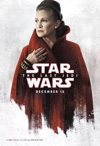 """USA The Last Jedi Version """"Blood Red Cloak"""" Leia Bus Shelter"""