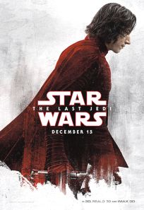 "USA The Last Jedi Version ""Blood Red Cloak"" Ren Bus Shelter"