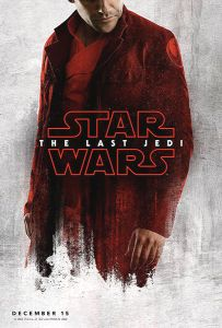 "USA The Last Jedi Version ""Blood Red Cloak"" Poe / Rey Bus Shelter"