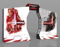 "USA The Last Jedi Style ""Light/Dark"" IMAX Standee"