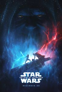 """USA The Rise of Skywalker Version """"A"""" Advance 2nd Version One-Sheet"""