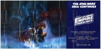 "USA Empire Strikes Back Style ""A"" Eight-Sheet"