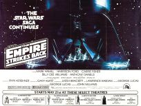 USA Empire Strikes Back Advance Teaser Subway Two-Sheet