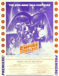 "USA Empire Strikes Back Style ""A"" Flyer Handbill"