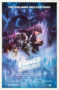 """USA Empire Strikes Back Style """"A"""" One-Sheet"""
