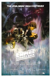 "USA Empire Strikes Back Style ""A"" International One-Sheet"